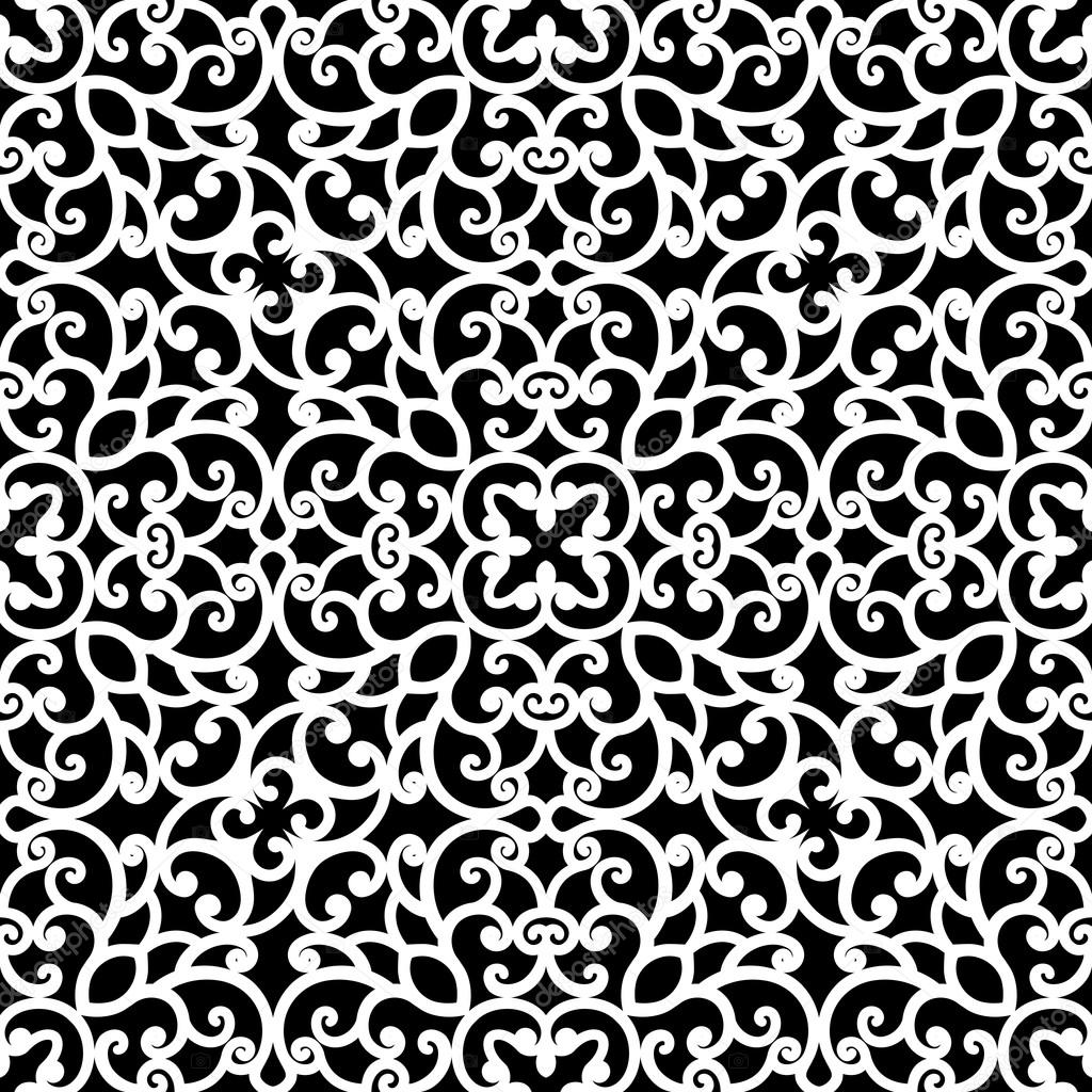 Black and white pattern texture