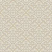 米色无缝模式 — 图库矢量图片