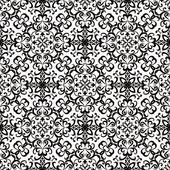 Blanco y negro patrón remolino — Vector de stock