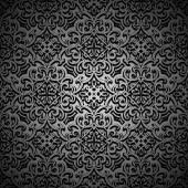 Patrón negro — Stockvector