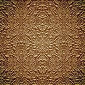 Vintage gouden patroon — Stockvector