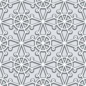 灰色花边图案 — 图库矢量图片