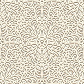 Vintage beige pattern — Stock Vector
