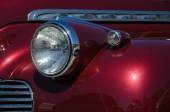Headlight at an old timer Chevrolet — Stock Photo