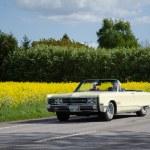 Постер, плакат: Chrysler 300 classic car on the road