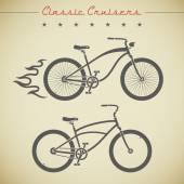 Custom bicycle — Stock Vector