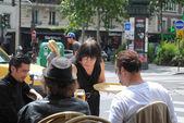 Parisian cafe. — Stock Photo