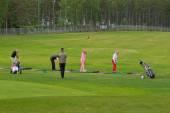Golf players. — Stock Photo