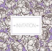 Elegant invitation design — Stock Vector