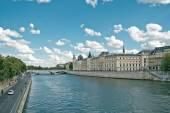 Parijs rivier de seine — Stockfoto