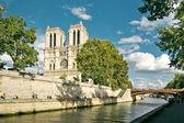 Notre Dame de Paris — Zdjęcie stockowe