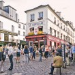 View of typical paris cafe on September 08, 2013 in Paris — Stock Photo #69145391