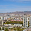 View of Ulaanbaatar from the height of the memorial complex on the outskirts of the city — Stock Photo #57565519