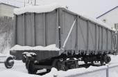 Wagon van goederentrein — Stockfoto