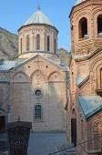 Mamadaviti (Father David) Church, Mtatsminda Mount, Tbilisi — Stock Photo