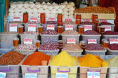 Miasto rynku spożywczego w Tbilisi. Przypraw i roślin strączkowych — Zdjęcie stockowe