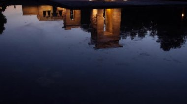 Egyptian Temple of Debod. — Stock Video