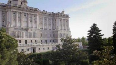 Royal Palace, Madrid, Spain — Stock Video
