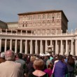 Saint Peter Basilica Square — Stock Video #66939663
