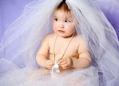 Baby girl — Foto Stock