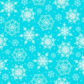 Beyaz kar taneleri — Stok Vektör