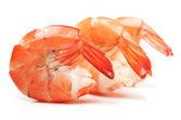 Delicious shrimps — Stock Photo
