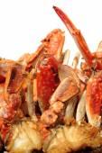 Stir-Fried crabs — Stock Photo