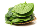 Spinach vegetable leaves — Stock Photo