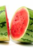 Watermelon halves — Stock Photo