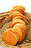 Dorayaki is a japanese bread — Stock Photo