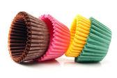 Cupcake liners — Stock Photo