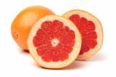 Grapefruit with segments — Stock Photo