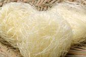 Rice noodles — Stock Photo
