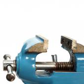 Table vise clamp — Stock Photo