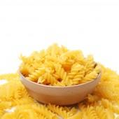 Raw italian pasta — Stock Photo