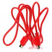 Röd kabel — Stockfoto