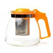 Glass modern kettle — Stock Photo