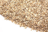 Scattered rolled oats — Stock Photo