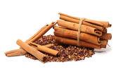 Cinnamon sticks and spice — Stock Photo