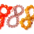 Bracelets with color gems — Stock Photo #58864149