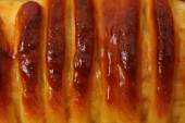 Pyszne śniadanie chleb — Zdjęcie stockowe