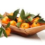 Ripe fresh tangerines — Stock Photo #60695707