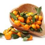 Ripe fresh tangerines — Stock Photo #60695713