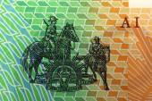 Bank note of Australia — Stock Photo