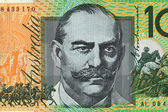 Bank note of Australia — Stock Photo