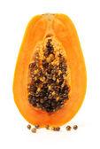 Sliced Papaya fruit — Stock Photo