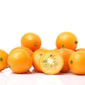 Kumquat on white background — Stock Photo