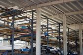 Boats storage — Stock Photo
