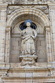 St Nicholas sculpture in Villafranca del Bierzo. — Stock Photo