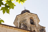 Belfry in Collegiate Church of Santa Maria — Stock Photo